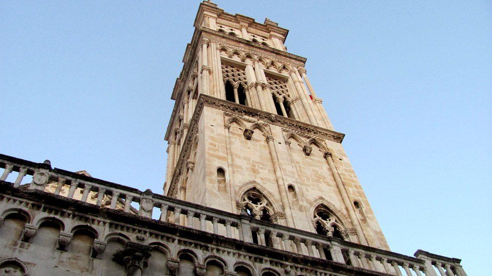 Trogir Katedralen Tårnet