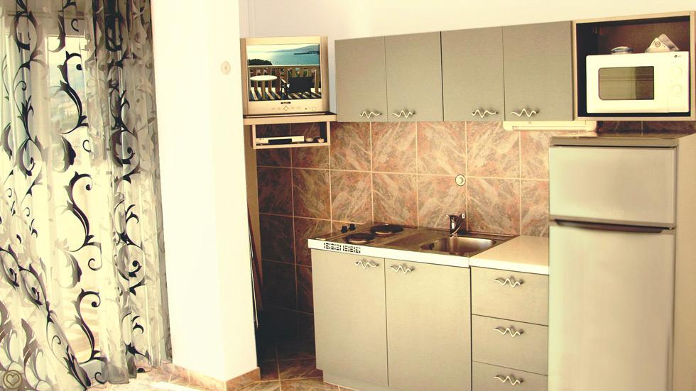 Kjøkken Liten Suite
