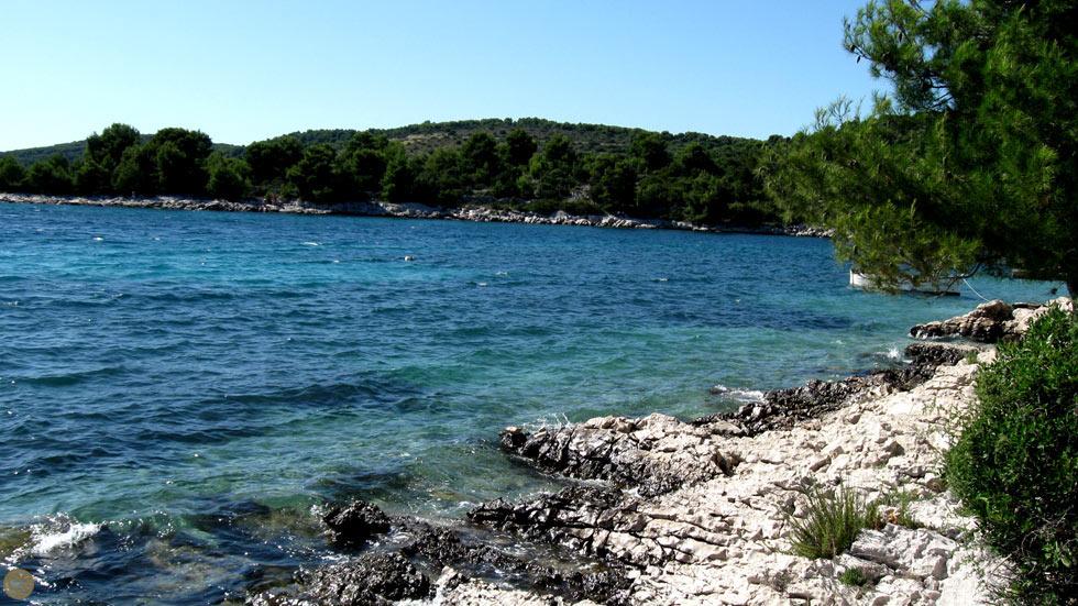 Naturlig Strand Trogir