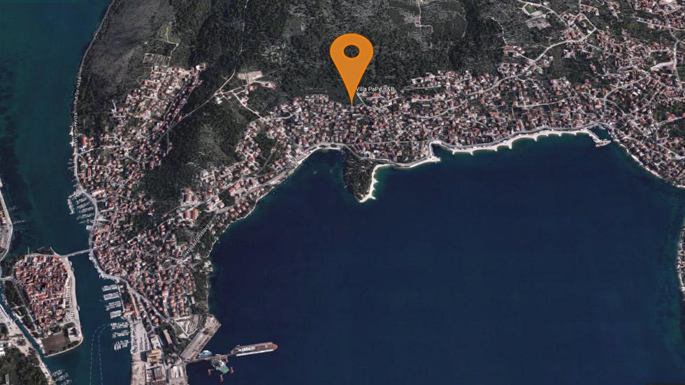 Trogir Kart Visning